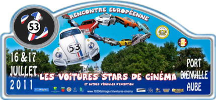 Rencontre europeenne des voitures stars de cinema
