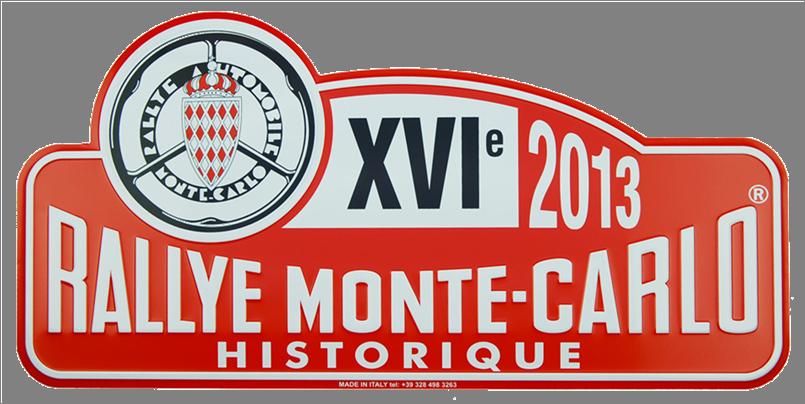 Plaque Monte Carlo 2013