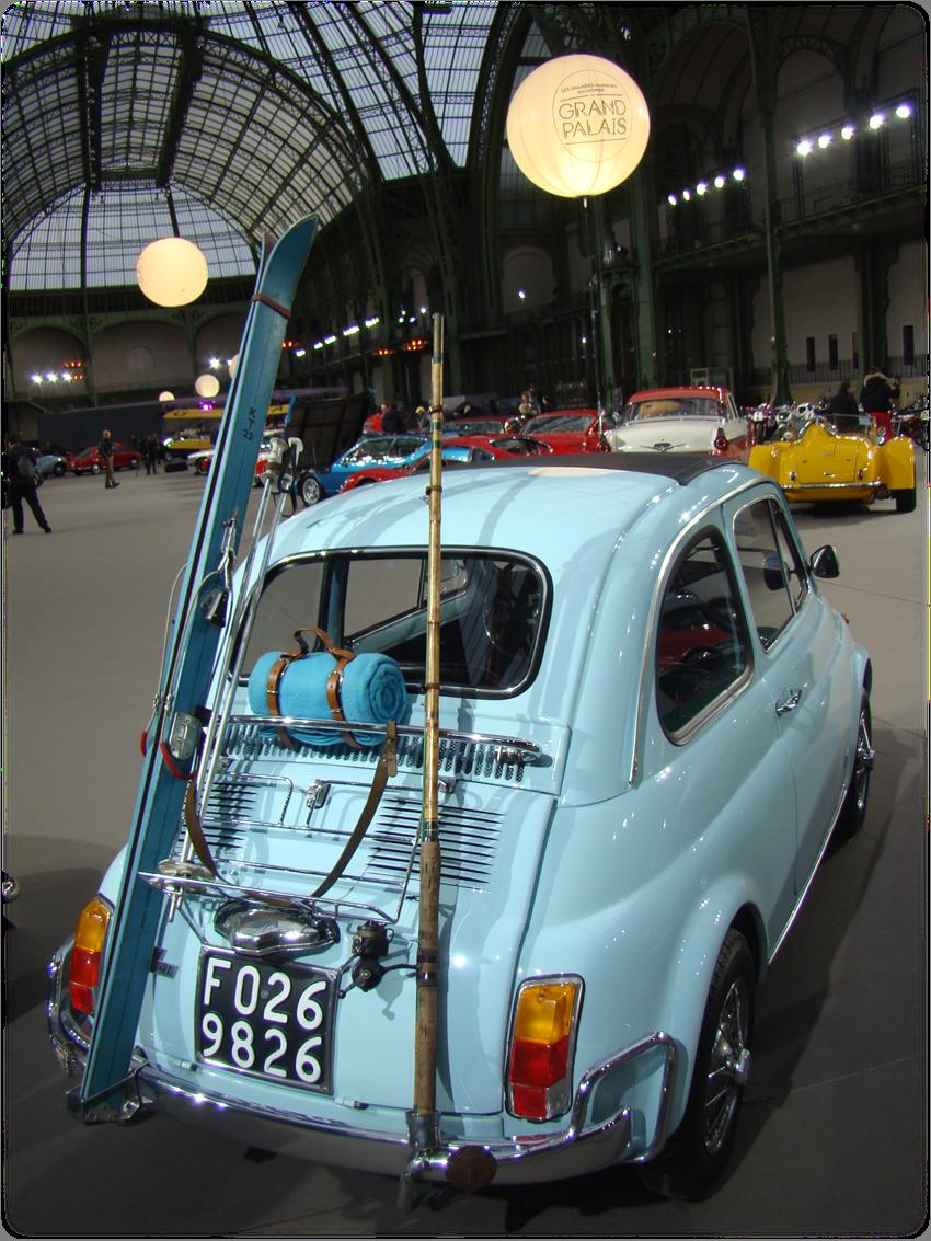 Fiat 500 Grand Palais