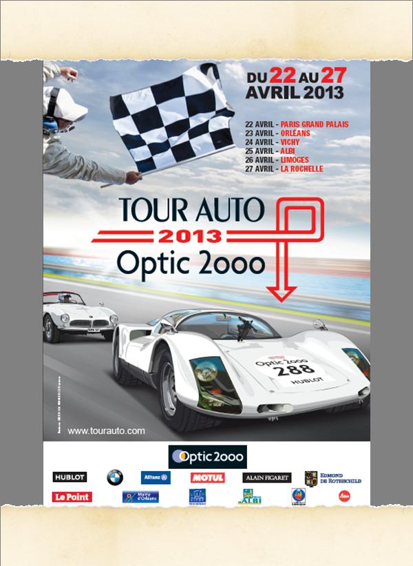 Affiche Tour Auto 2013
