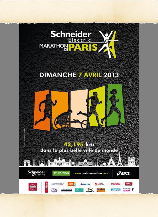 Affiche marathon