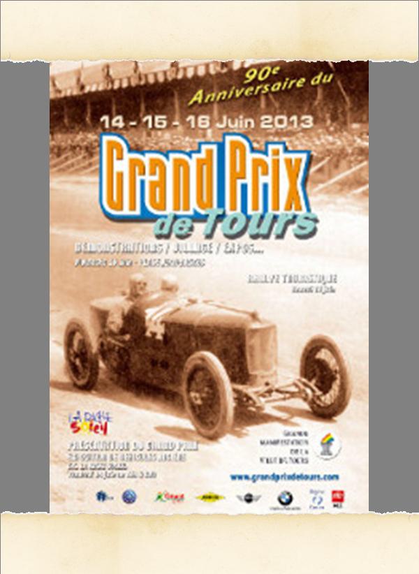 Affiche GP Tours 2013