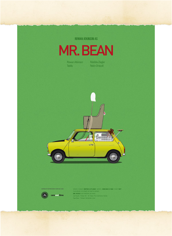 Cars and Film Bean