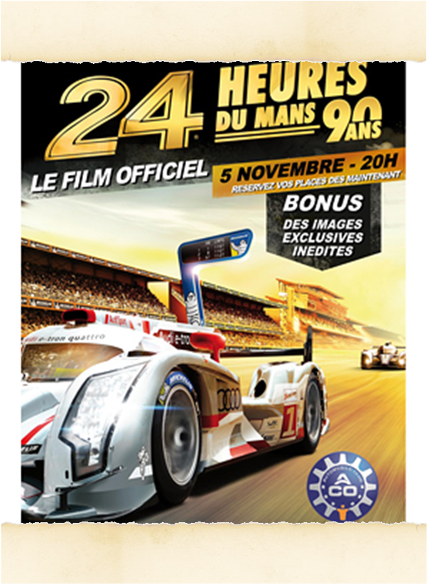 les 24 heures du mans 2013 au cin ma morrissette racing. Black Bedroom Furniture Sets. Home Design Ideas