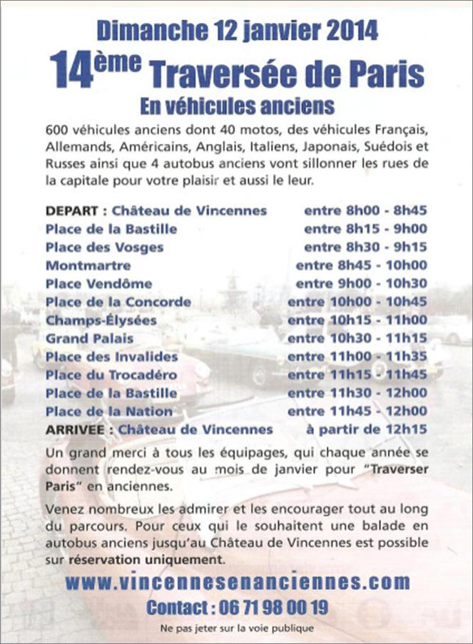 Parcours TP2014