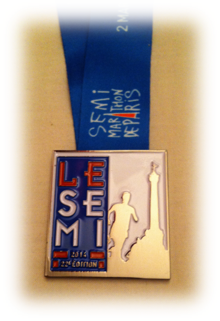 Medaille Semi 2014