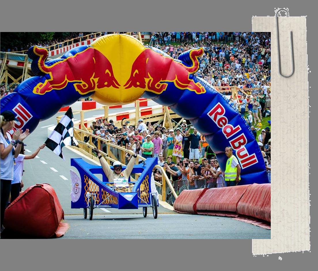 Red Bull Caisse Savon