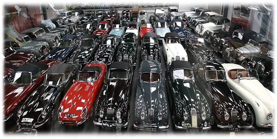 Jaguar heritage rach te la collection hull morrissette - Comptoir de la voiture de collection ...