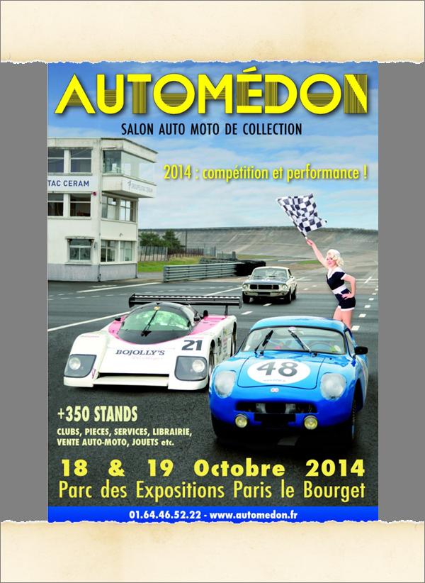 Affiche Automedon 2014