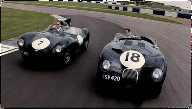 Jaguar Heritage Driving