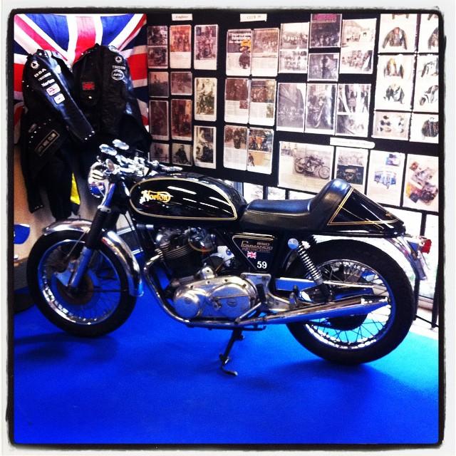 Norton Commando, British legend #Norton #Commando #UnionJack