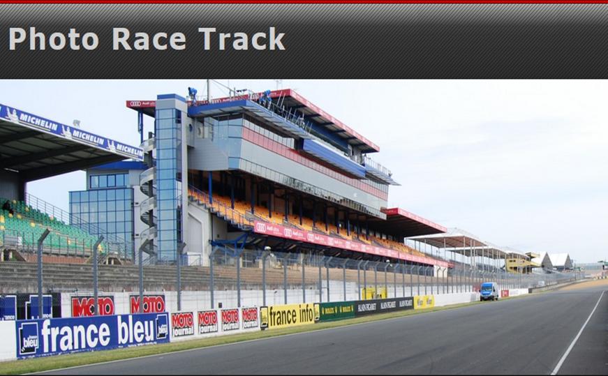 Photo Race Track