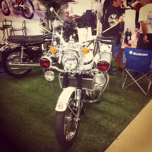 La moto de CHiPs #Suzuki #Police #CHiPs
