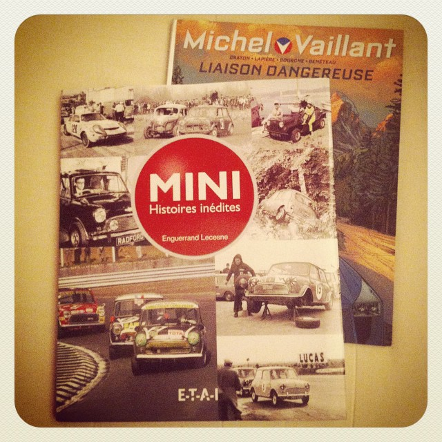 En attendant Noël, on se fait ses propres cadeaux #Mini #MiniClassic #MichelVaillant