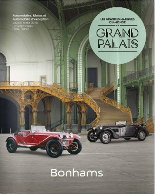 Bonhams Retromobile 2015