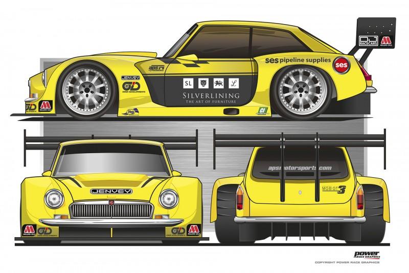 MG GT3-4