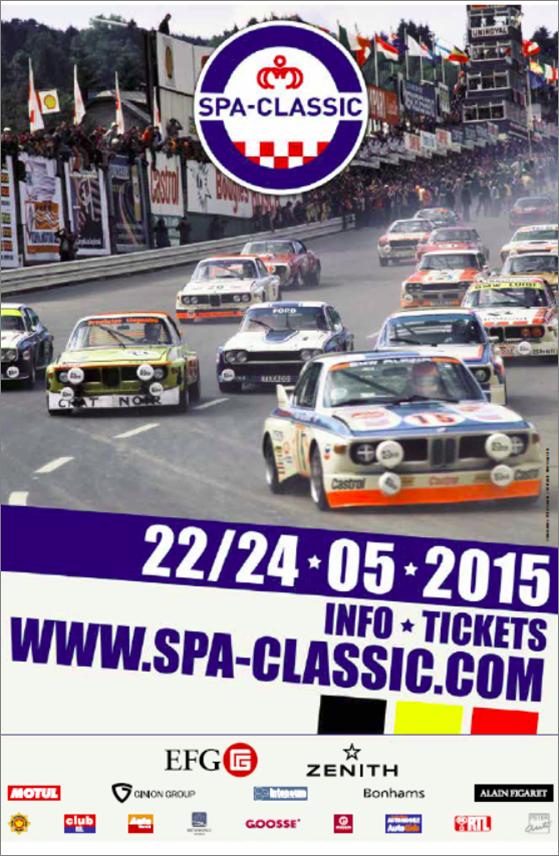 Affiche Spa Classic 2015
