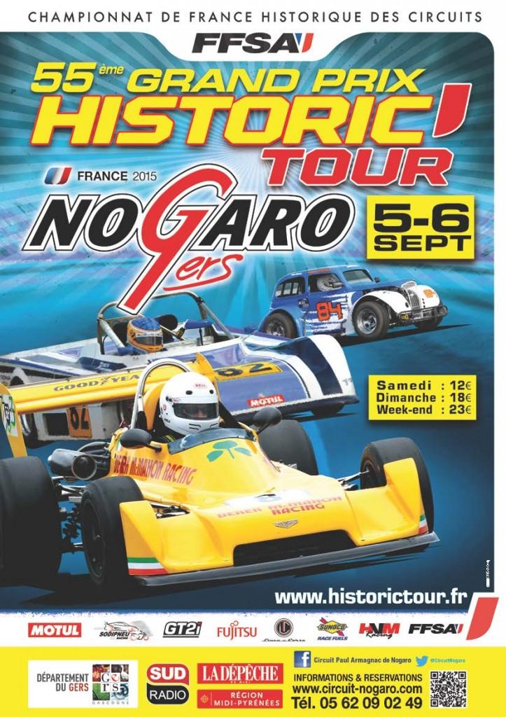 Affiche Nogaro 2015