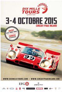 Affiche Dix Mille Tours 2015