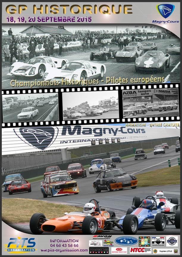 Affiche GP Historique Magny Cours