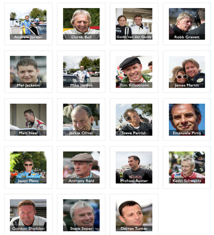 Goodwood Drivers