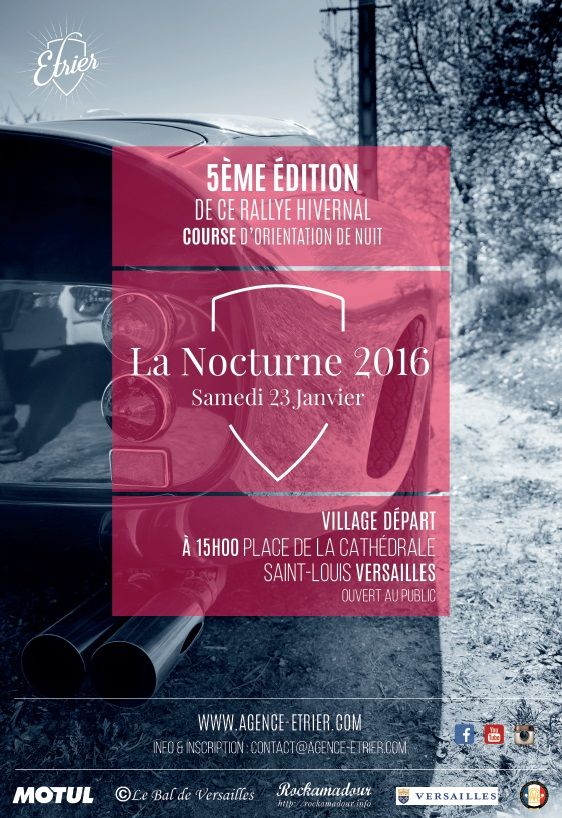 Affiche Nocturne 2016
