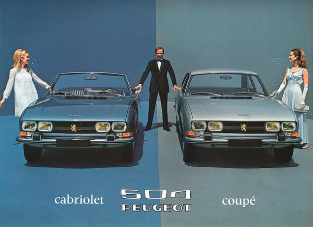 Catalogue 504 Coupe Cab