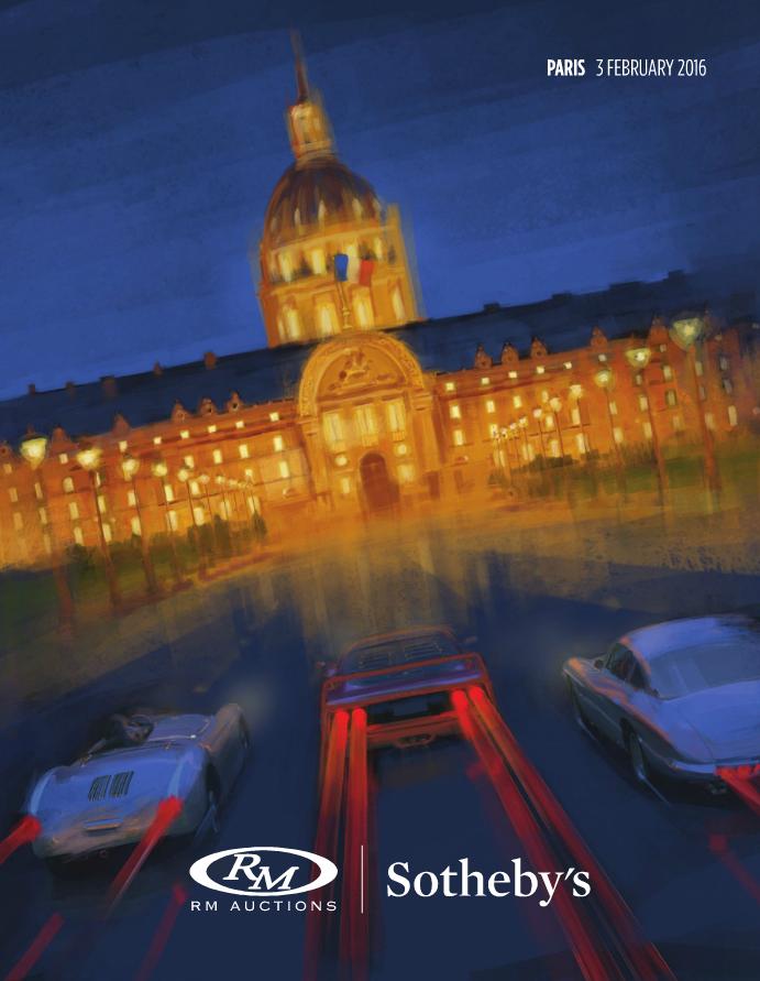 Catalogue RM Auctions Sothebys Paris 2016