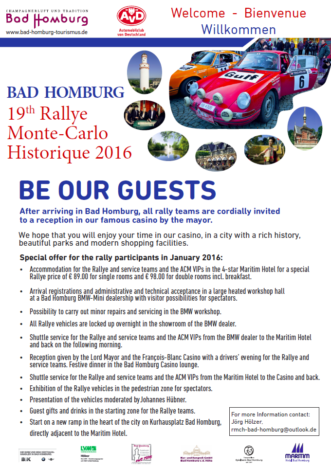 Depart Bad Homburg RMCH2016