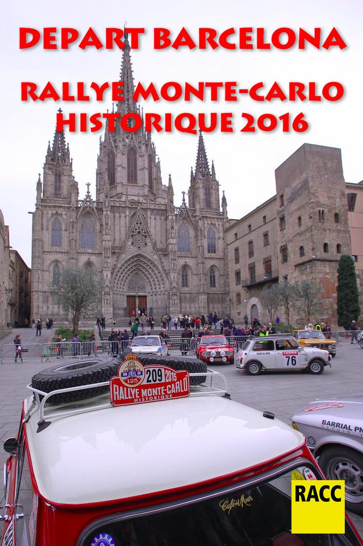 Depart Barcelone RMCH2016