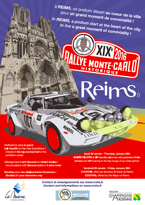 Depart Reims RMCH2016