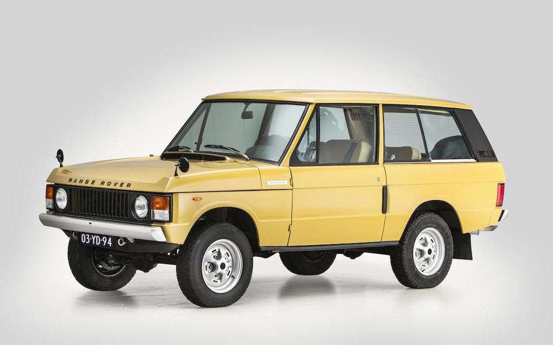 Range Rover Bonhams