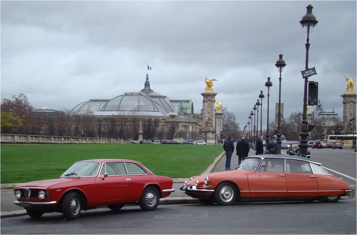 Traversee de Paris 2016 Grand Palais