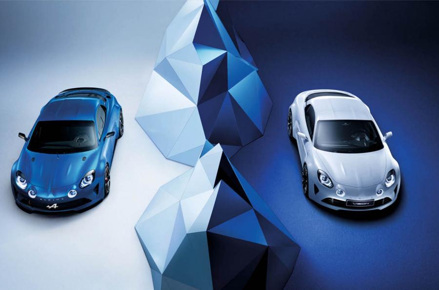 Alpine Vision Blanc Bleu