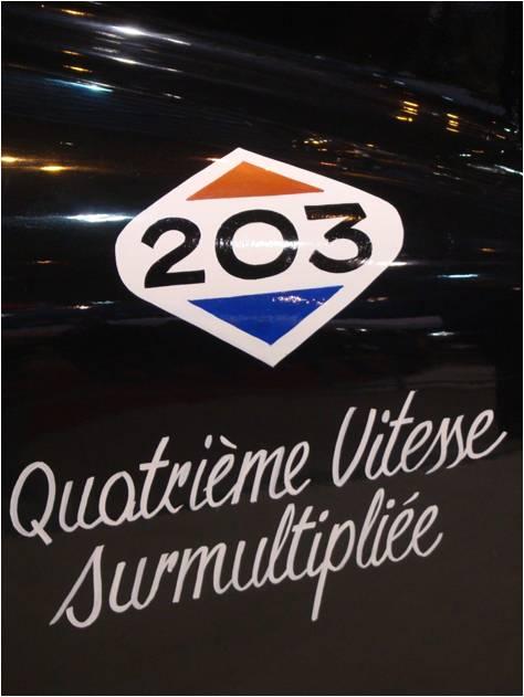 Rétromobile 2016 Peugeot 203