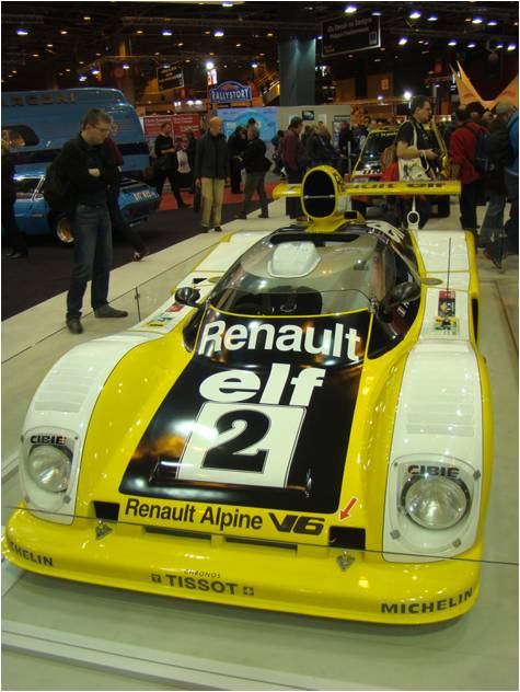 Retromobile 2016 Alpine A442