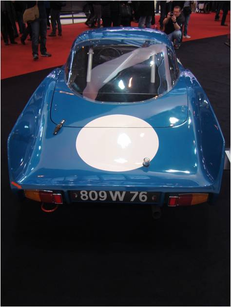 Retromobile 2016 Alpine M65 AR
