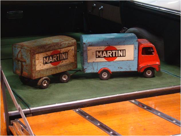 Retromobile 2016 Camion MArtini