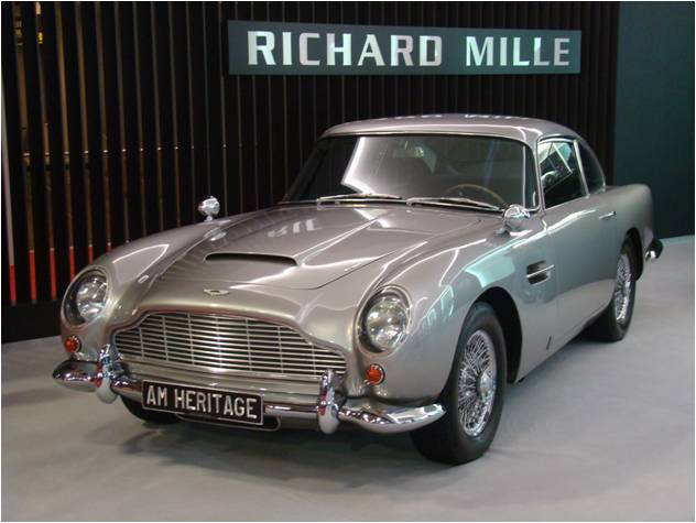 Retromobile 2016 DB5