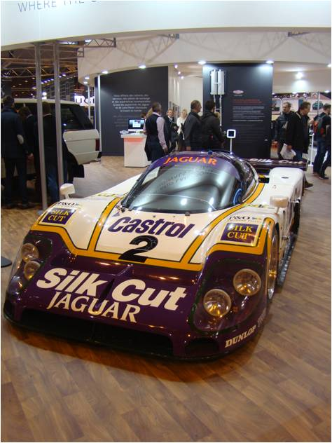Retromobile 2016 Jaguar Le Mans