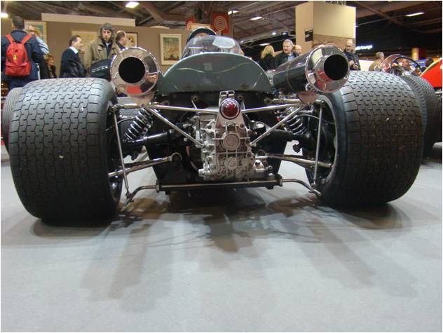 Retromobile 2016 Monoplace