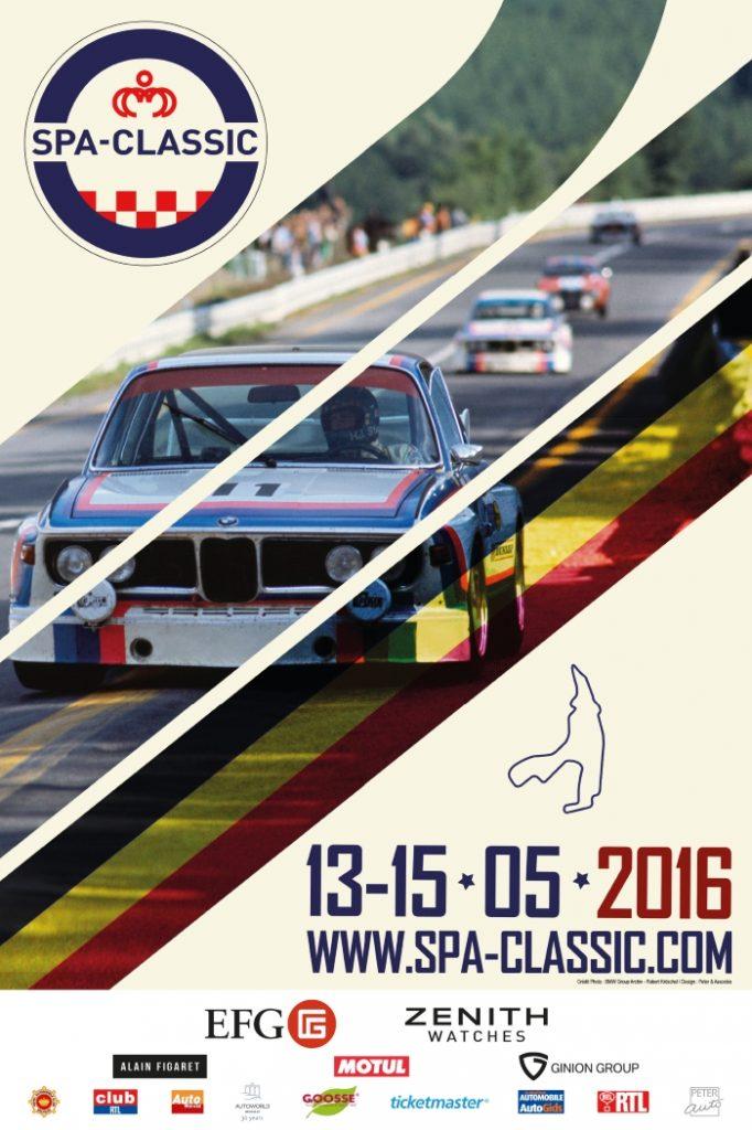 Affiche Spa Classic 2016