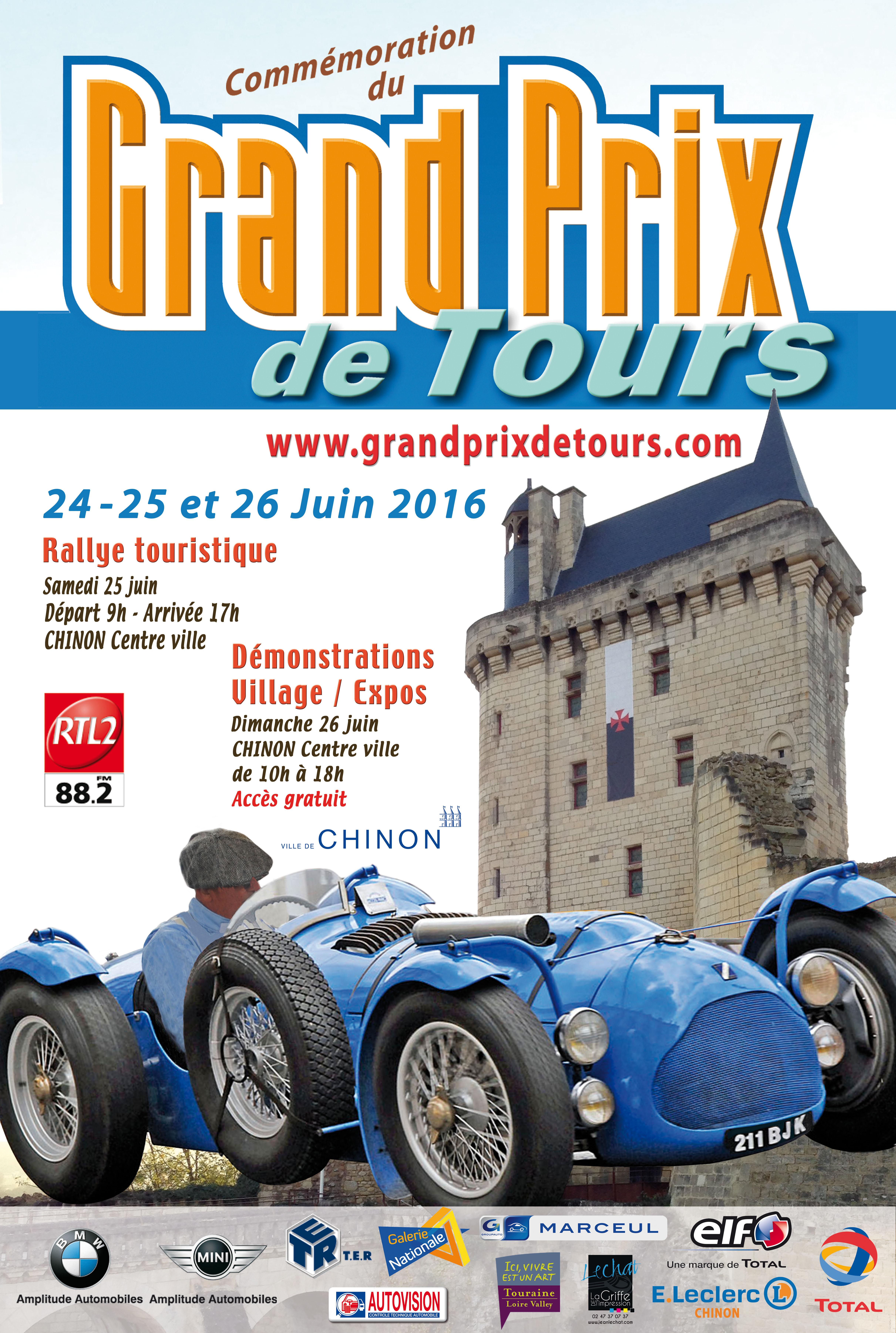 Affiche GP Tours 2016