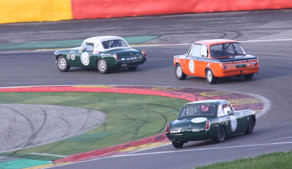 Spa 3 Hours MGB