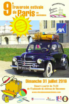Traversee de Paris Juillet 2016