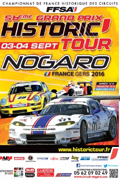 Historic Tour Nogaro 2016