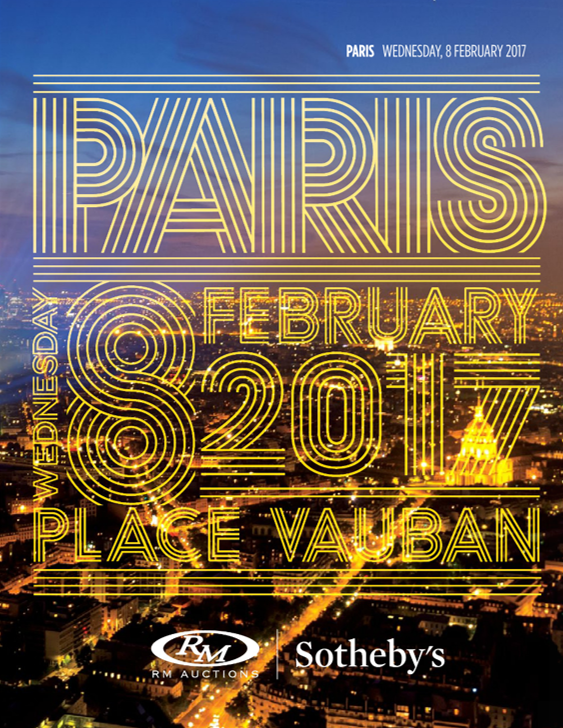 RM Sothebs Paris Sales 2017